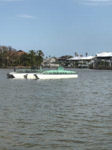 Hurricane Harvey Boat Damage 2