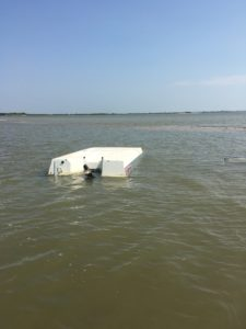 Hurricane Harvey Boat Damage 3